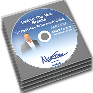 Before the Vow Breaks CD by Mark Evans